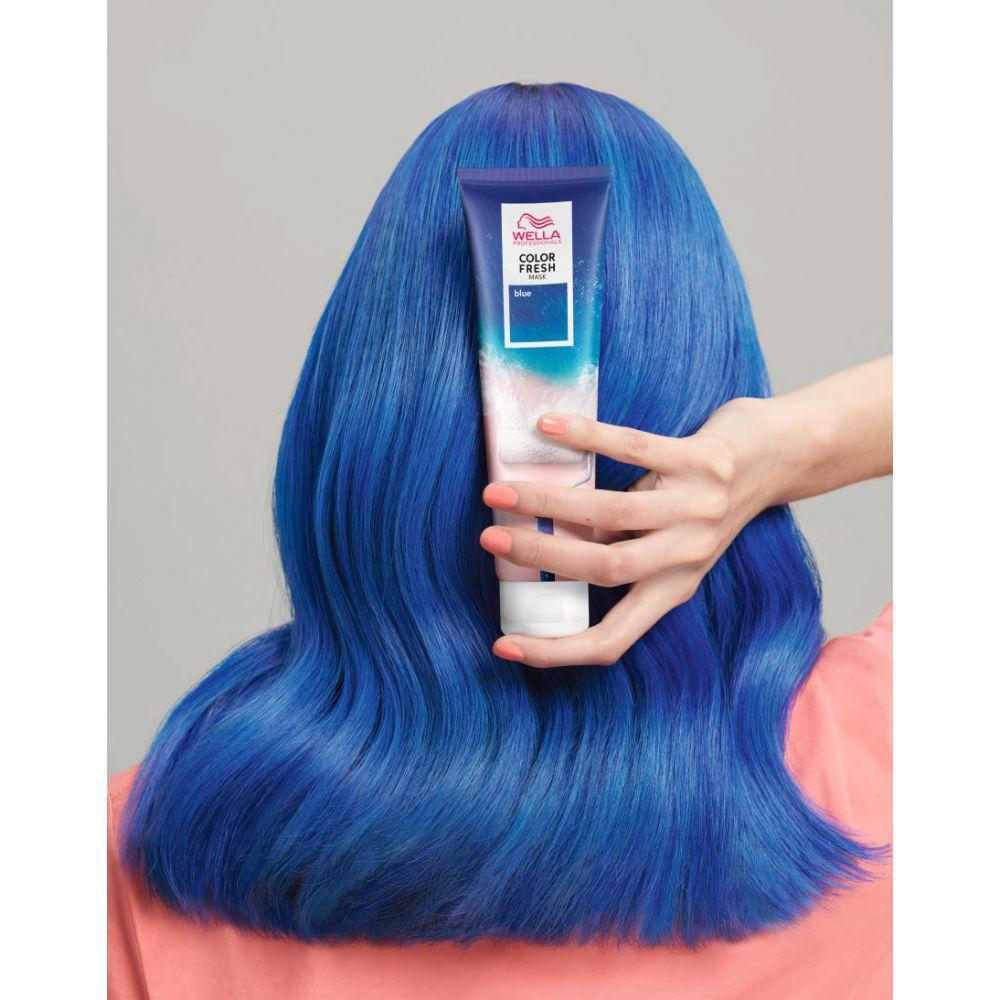 Wella Color Fresh Оттеночная маска (Синий), 150мл