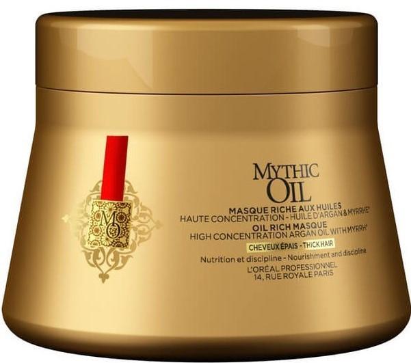 L'Oreal Mythic Oil Маска питательная для плотных волос, 200мл