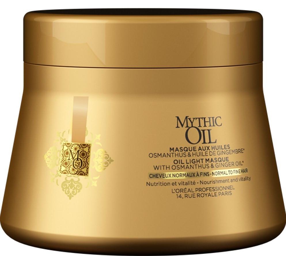 L'Oreal Mythic Oil Маска питательная для нормальных и тонких волос, 200мл