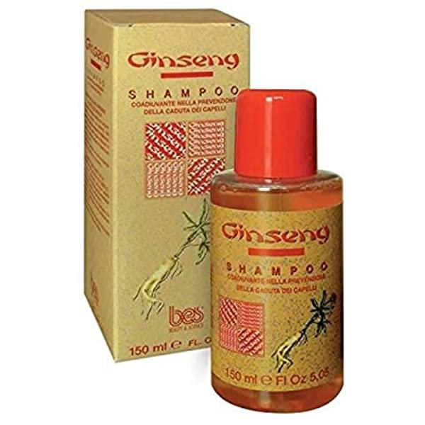 BES Ginseng Шампунь против выпадения волос с экстрактом женьшеня Hair Loss Active Shampoo, 150мл