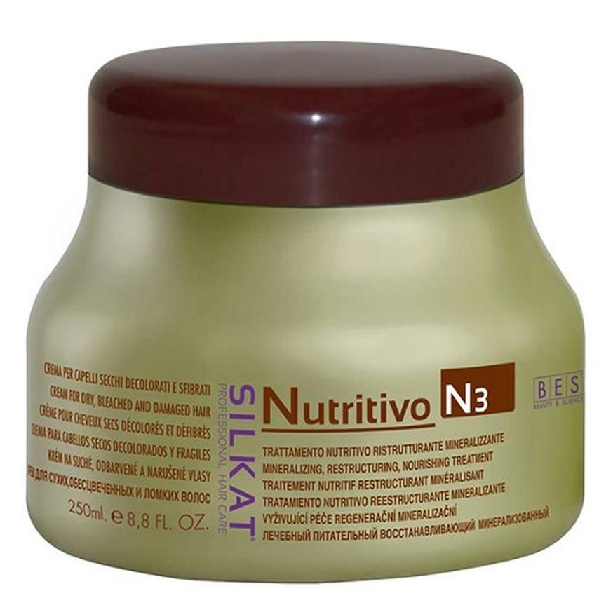 BES Silkat Nutritivo Питательный крем с минералами N3, 250мл