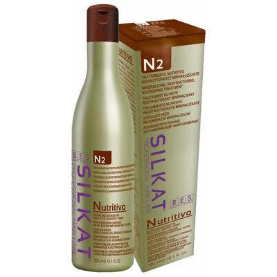 BES Silkat Nutritivo Несмываемый бальзам для сухих и ломких волос N2, 300мл