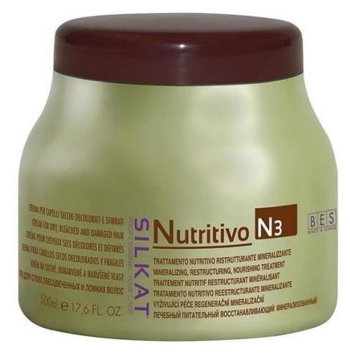 BES Silkat Nutritivo Питательный крем с минералами N3, 500мл