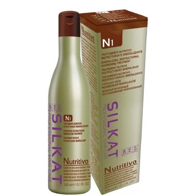 BES Silkat Nutritivo Питательный шампунь сухих и ломких волос N1, 300мл