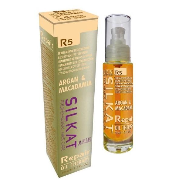 BES Silkat Repair Масло для волос мультифункциональное R5, 50мл