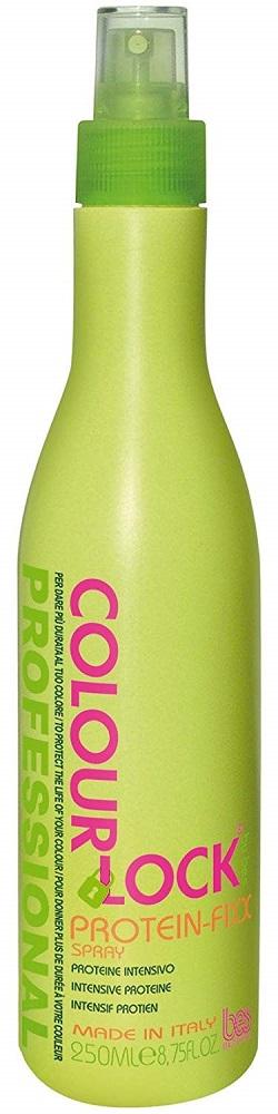 BES Colour Lock Несмываемый спрей-кондиционер для окрашенных волос Protein-Fixx, 250мл