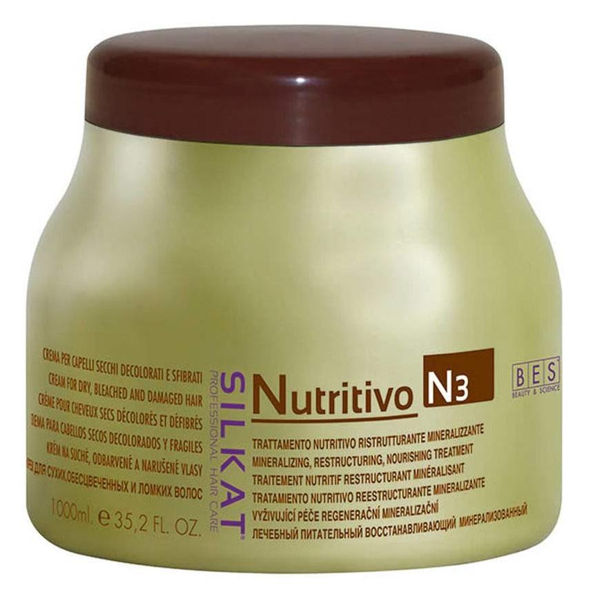 BES Silkat Nutritivo Питательный крем с минералами N3, 1000мл