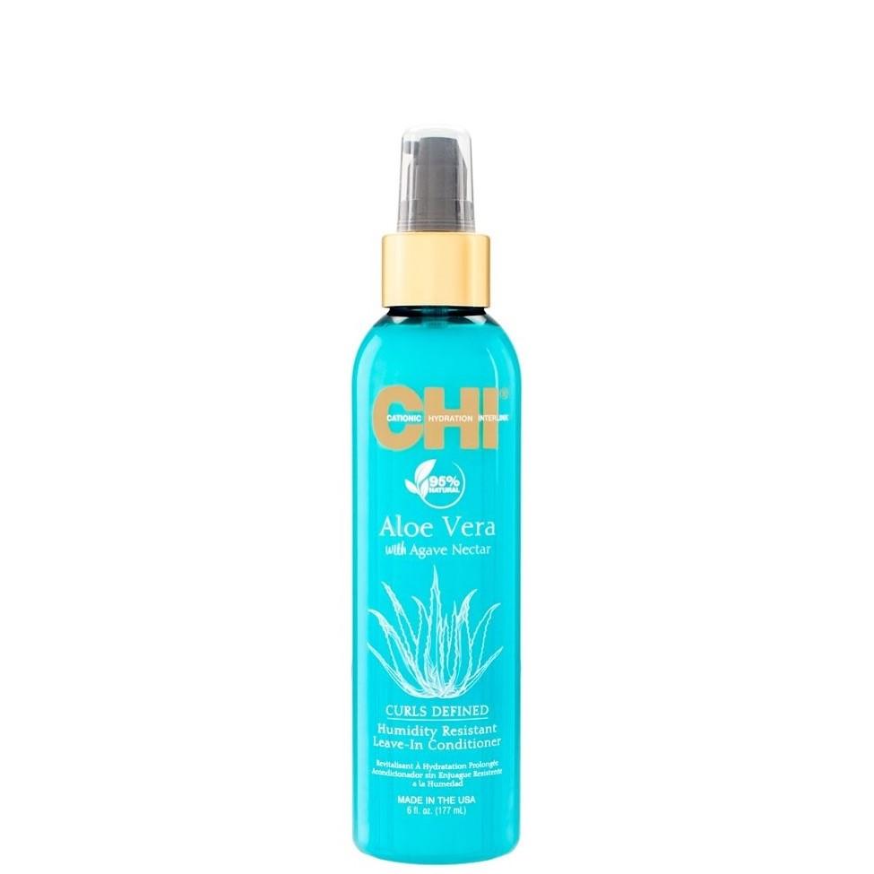 CHI Aloe Vera Несмываемый увлажняющий кондиционер для вьющихся волос, 177мл