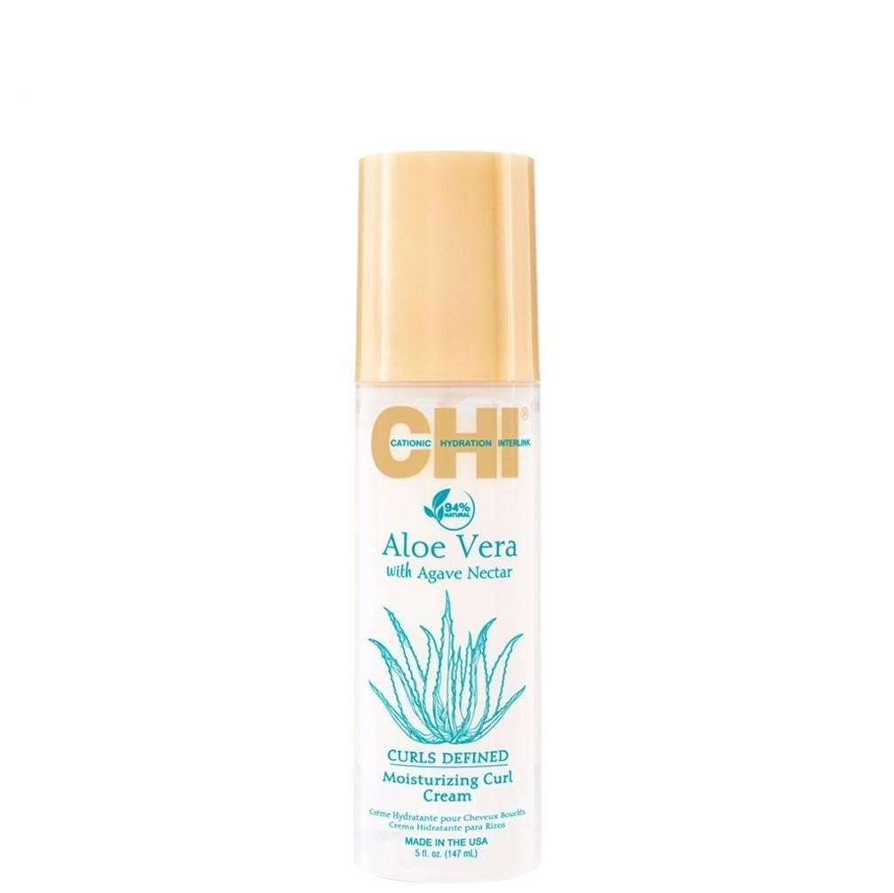 CHI Aloe Vera Увлажняющий крем для вьющихся волос, 147мл