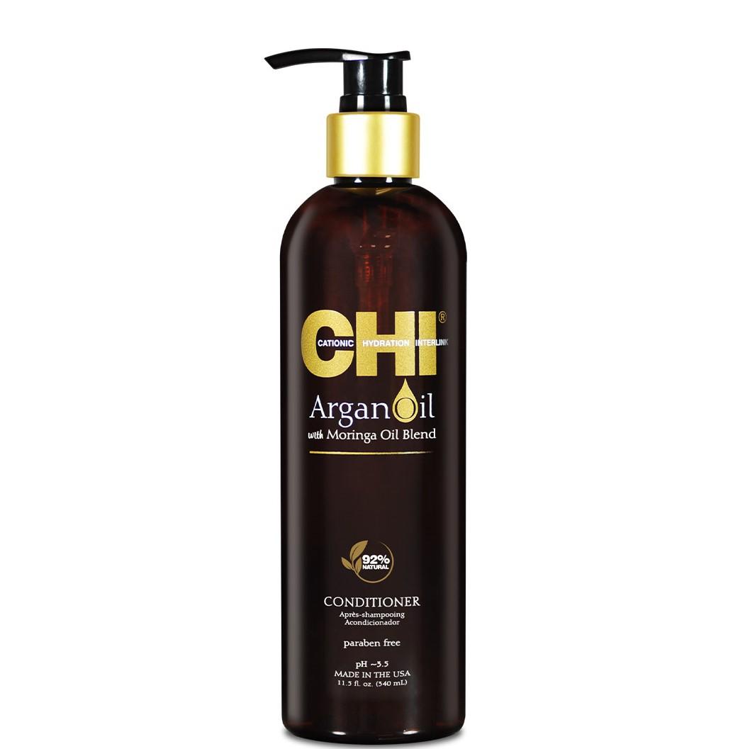 CHI Argan Oil Кондиционер с маслом арганы и дерева моринга, 340мл