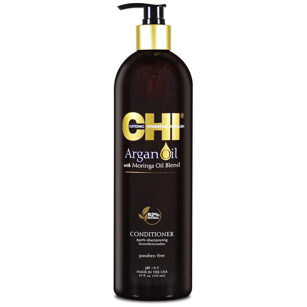 CHI Argan Oil Кондиционер с маслом арганы и дерева моринга, 739мл