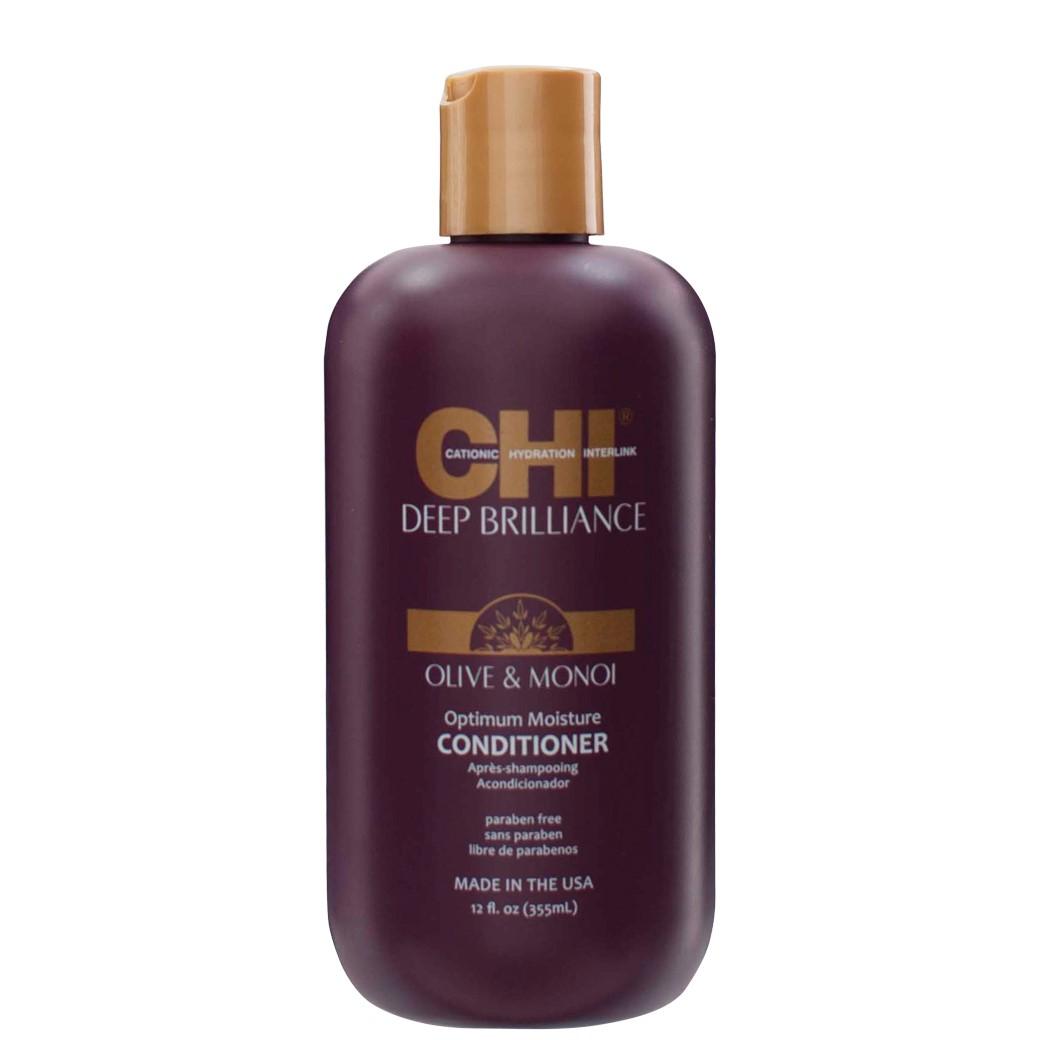 CHI Deep Brilliance Увлажняющий кондиционер для поврежденных волос, 355мл