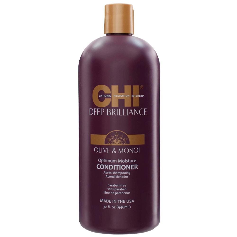 CHI Deep Brilliance Увлажняющий кондиционер для поврежденных волос, 946мл