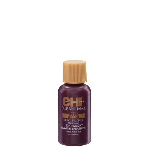 CHI Deep Brilliance Сыворотка для поврежденных волос на основе шелка, 15мл