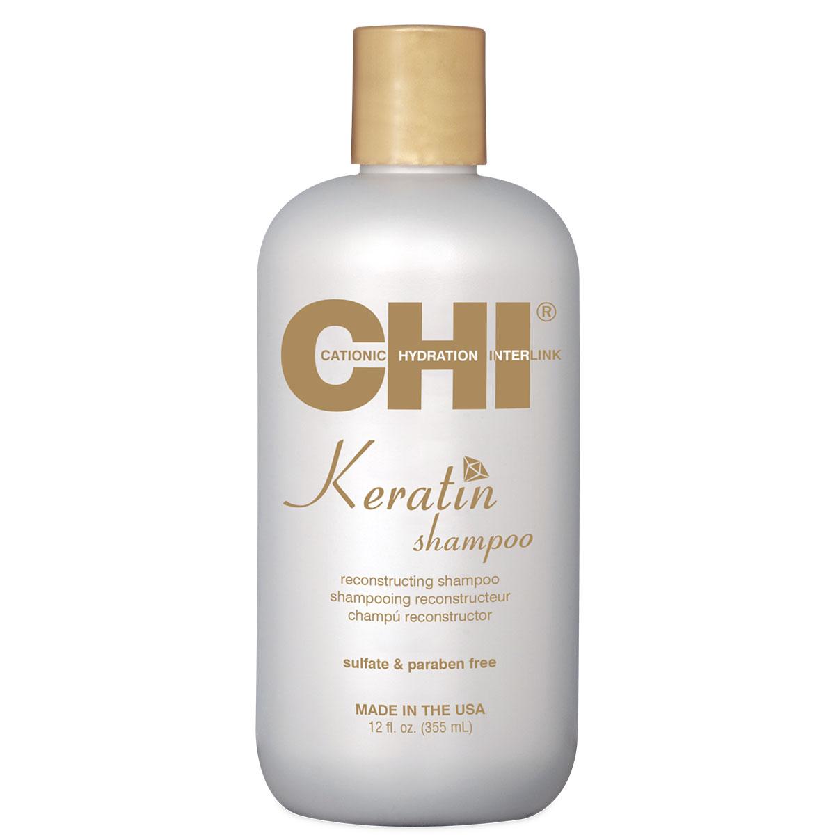 CHI Keratin Восстанавливающий шампунь с кератином, 355мл