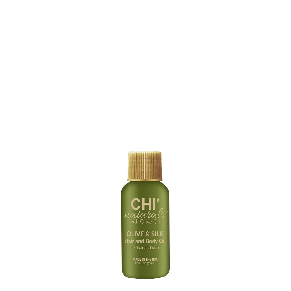 CHI Olive Organics Масло оливы для волос и тела, 15мл