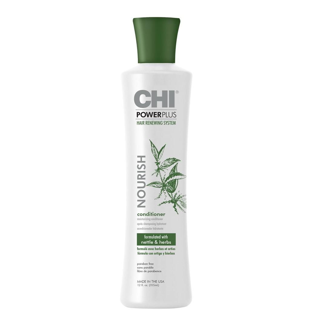 CHI Power Plus Питательный кондиционер для сухих волос, 355мл