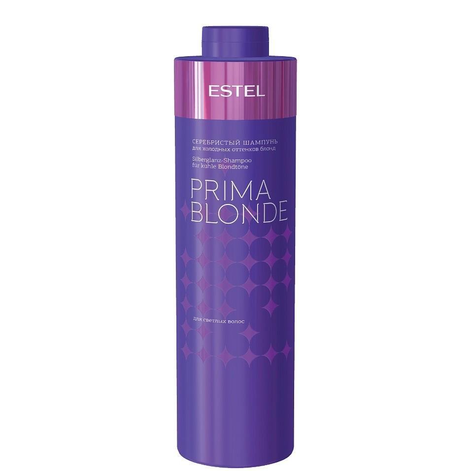 ESTEL Prima Blonde Серебристый шампунь для холодного блонда, 1000мл