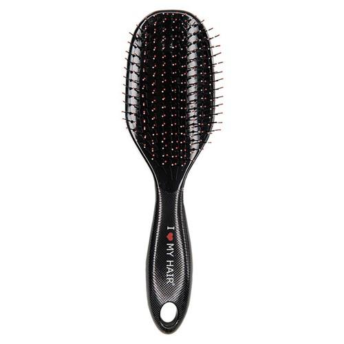 I LOVE MY HAIR Spider Щетка черная глянцевая Большая