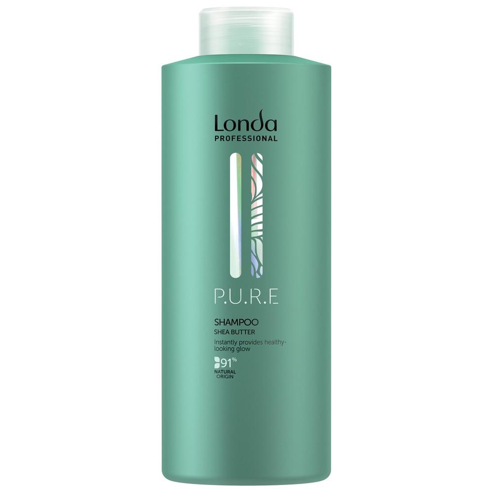 Londa P.U.R.E Шампунь бессульфатный для сияния волос, 1000мл