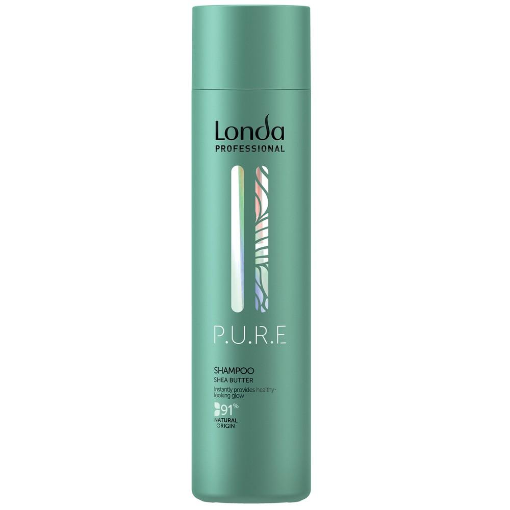 Londa P.U.R.E Шампунь бессульфатный для сияния волос, 250мл