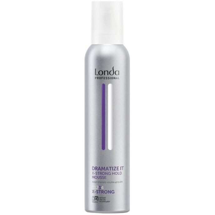 Londa Dramatize It Пена для укладки волос экстрасильной фиксации, 250мл