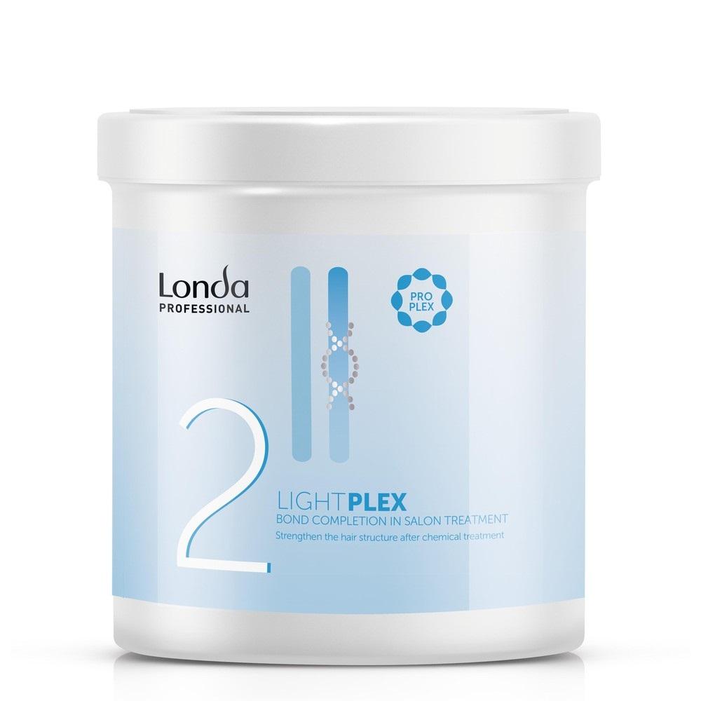 Londa Lightplex Профессиональное средство для укрепления структуры волос Шаг 2, 750мл