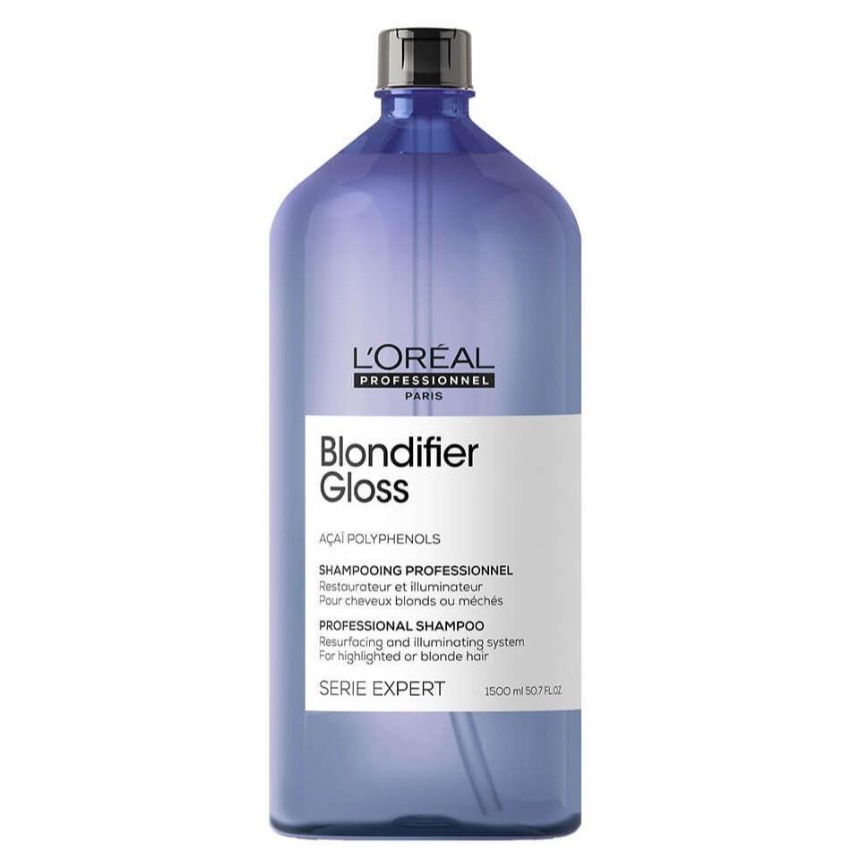 L'Oreal Blondifier Gloss Шампунь для осветленных и мелированных волос, 1500мл