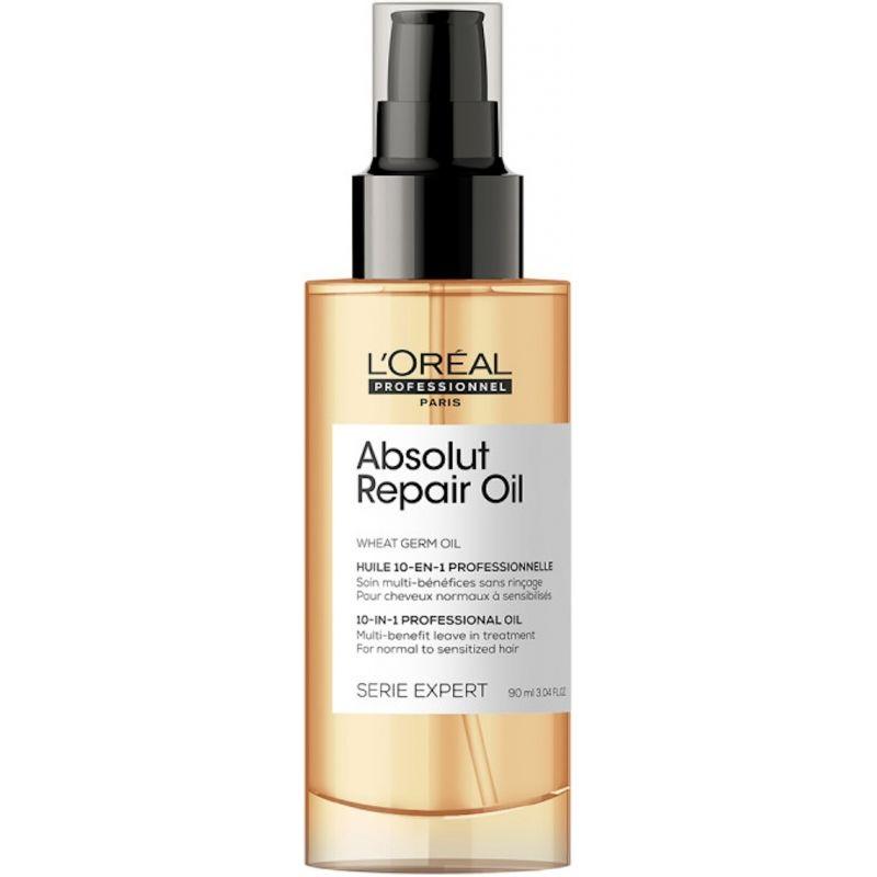 L'Oreal Absolut Repair Масло-уход 10в1 для восстановления поврежденных волос, 90мл