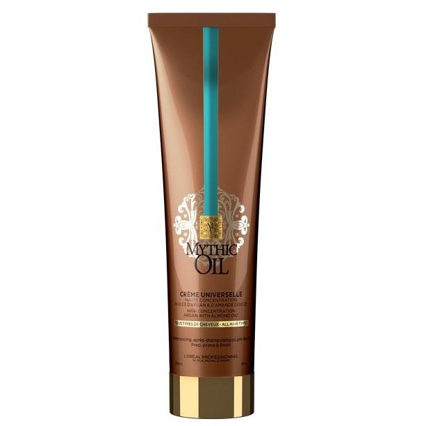 L'Oreal Mythic Oil Универсальный крем 3 В 1 для всех типов волос, 150мл