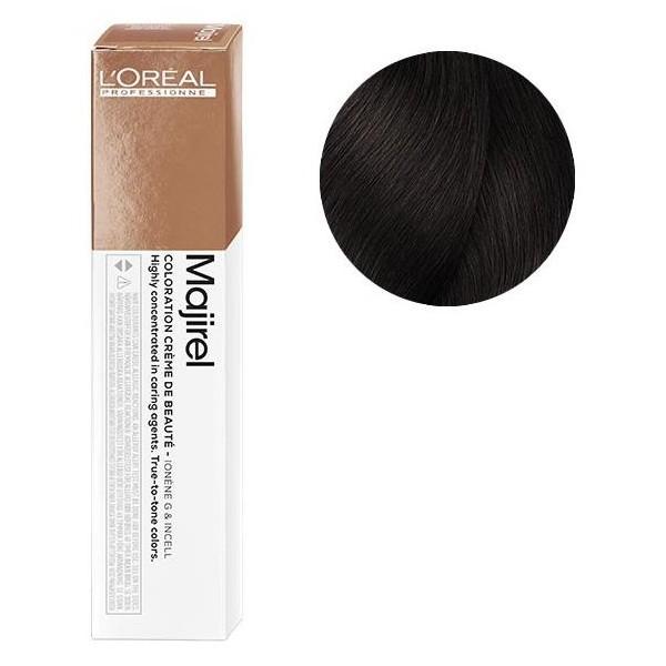 L'Oreal Majirel 4.8 Шатен мокка Крем-краска для волос, 50мл