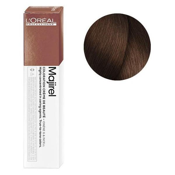 L'Oreal Majirel 6.35 Темный блондин золотистый махагоновый Крем-краска для волос, 50мл