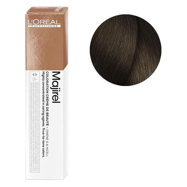 L'Oreal Majirel 6.8 Темный блондин мокка Крем-краска для волос, 50мл