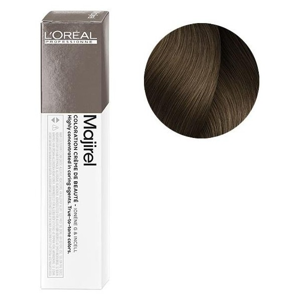 L'Oreal Majirel 7.12 (HR) Блондин пепельный перламутровый Крем-краска для волос, 50мл