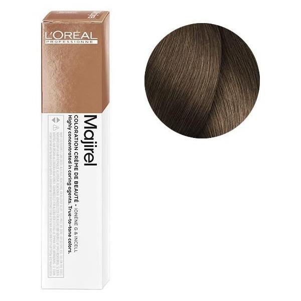 L'Oreal Majirel 7.8 Блондин мокка Крем-краска для волос, 50мл