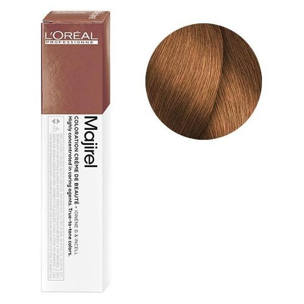 L'Oreal Majirel 8.34 Светлый блондин золотистый медный Крем-краска для волос, 50мл