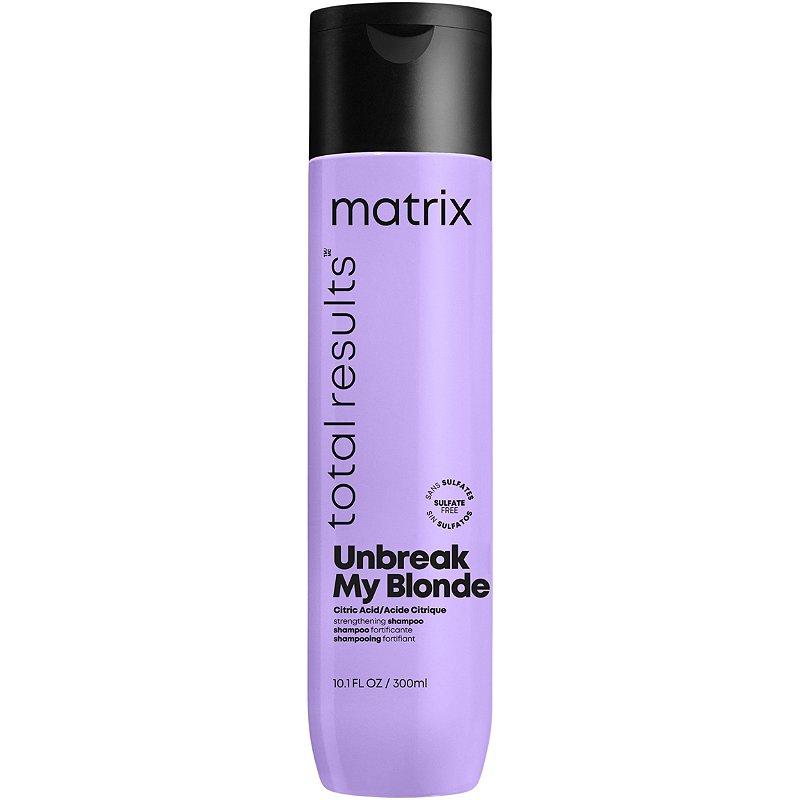 Matrix Unbreak My Blonde Шампунь для укрепления осветленных волос, 300мл