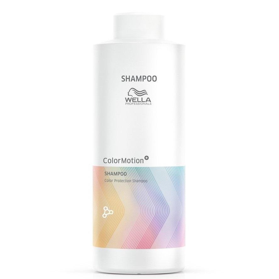 Wella Color Motion+ Шампунь для окрашенных жестких волос, 1000мл