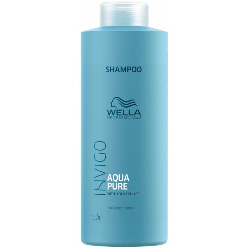 Wella Invigo Balance Очищающий шампунь для волос Aqua Pure, 1000мл
