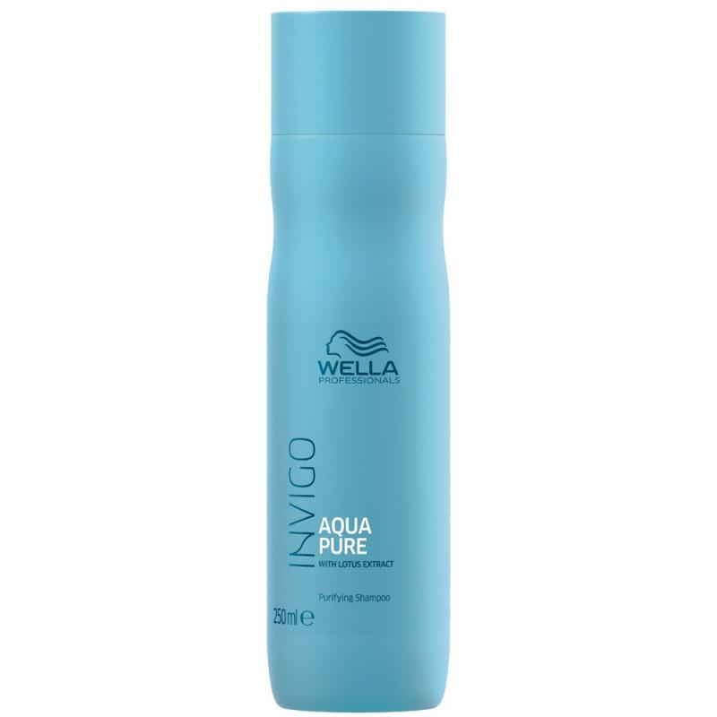 Wella Invigo Balance Очищающий шампунь для волос Aqua Pure, 250мл
