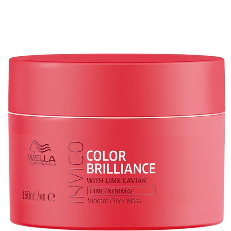 Wella Invigo Color Brilliance Маска для окрашенных тонких и нормальных волос, 150мл