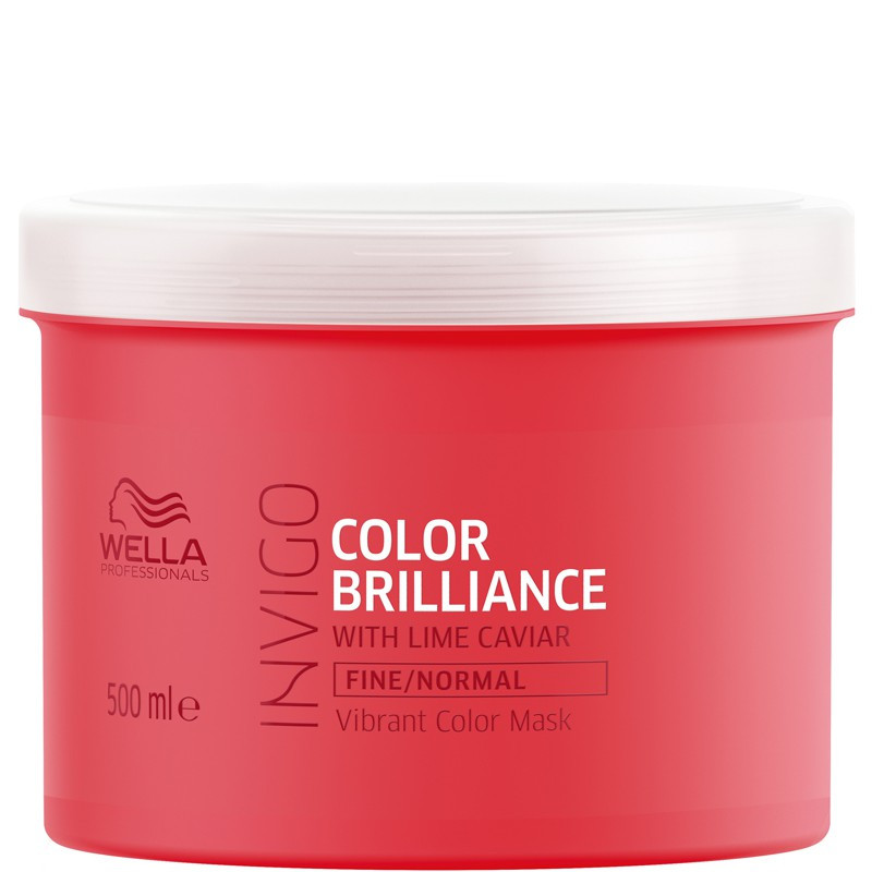 Wella Invigo Color Brilliance Маска для окрашенных тонких и нормальных волос, 500мл