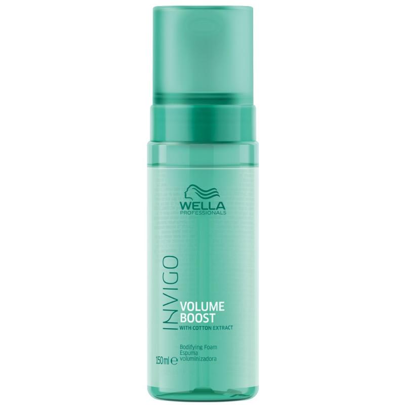 Wella Invigo Volume Boost Мусс-уход для объема для нормальных и тонких волос, 150мл