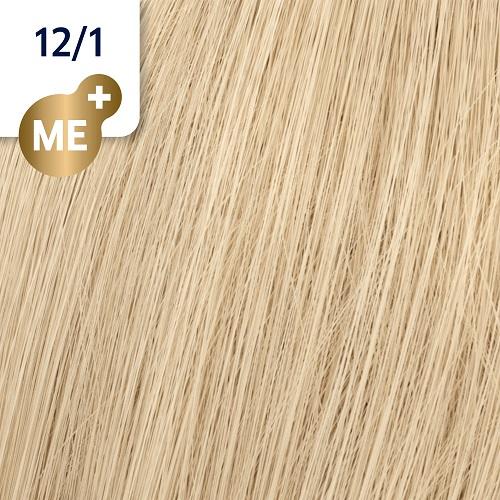 Koleston Perfect ME+ 12/1 Стойкая крем-краска Ультра яркий блонд пепельный, 60мл