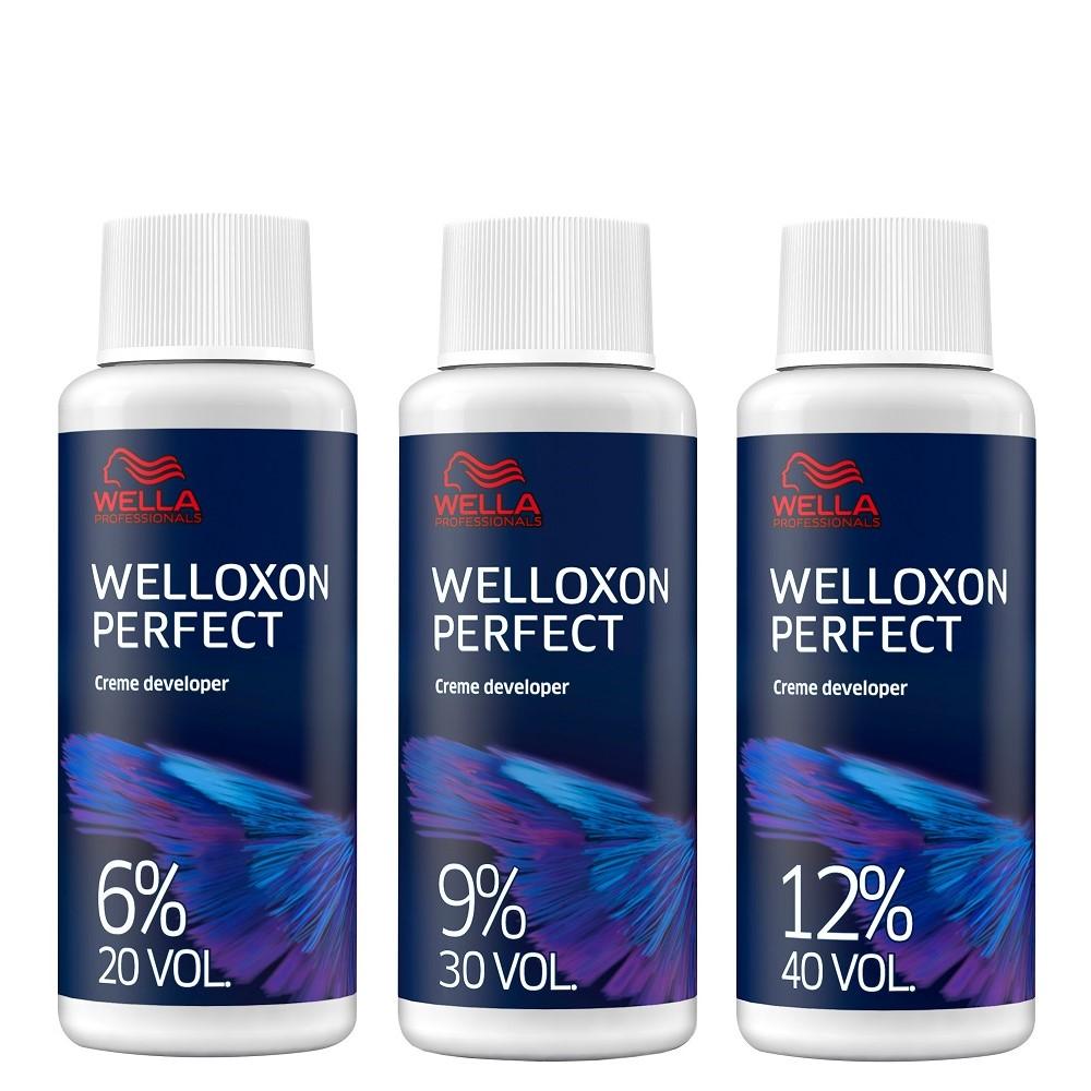 Welloxon Perfect Окислитель (6%, 9%, 12%), 60мл